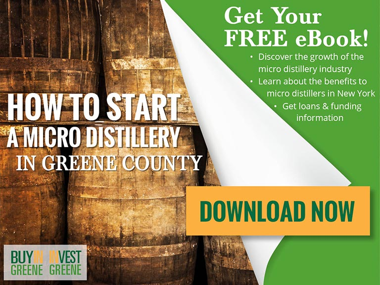 The Time is Right to Start a Micro Distillery in Greene County, NY