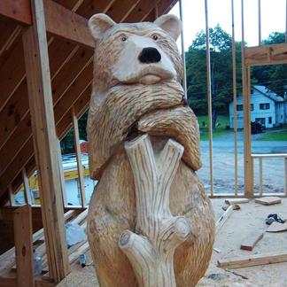 Alberti Woodcarving