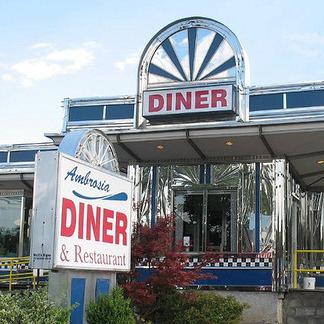 Ambrosia Diner in Catskill