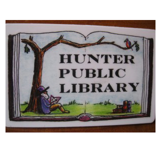 Hunter Public Library in Hunter