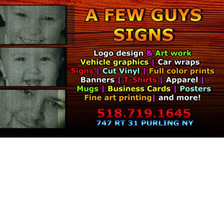 A Few Guys Signs