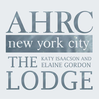 AHRC Katy Isaacson & Elaine Gordon Lodge