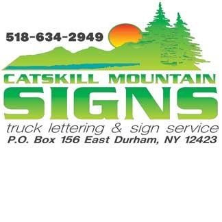 Catskill Mountain Signs