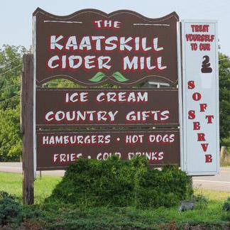 The Kaatskill Cider Mill in Catskill