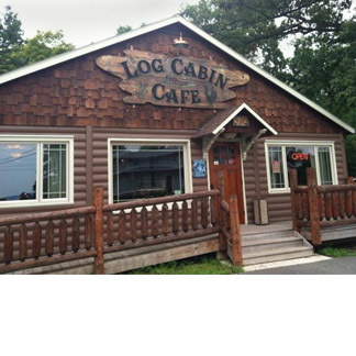 Log Cabin Cafe in Purling