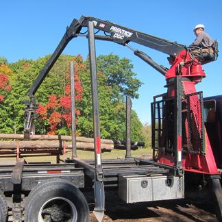 Jeffery E Creech Logging in Catskill