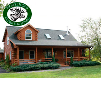 Moosehead Cedar Log Homes in Greenville