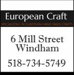European Craft Store in Windham
