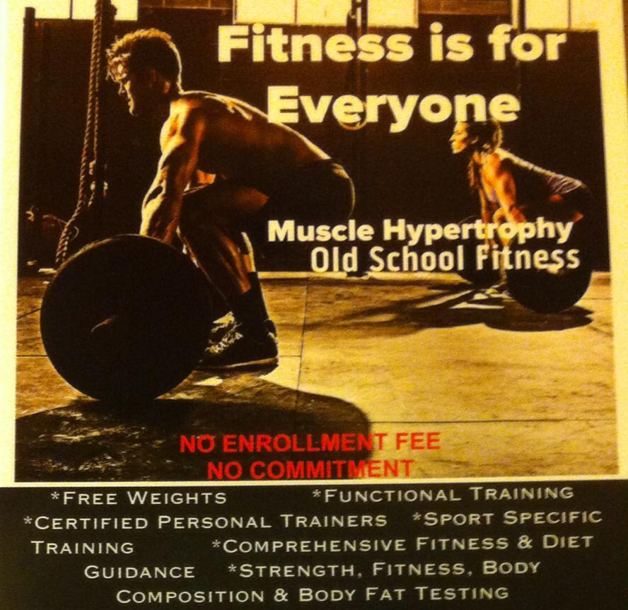 Muscle Hypertrophy Gym