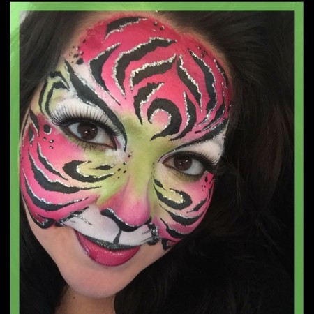 Face Painting by Crystal in Leeds