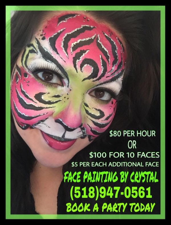 Face Painting by Crystal