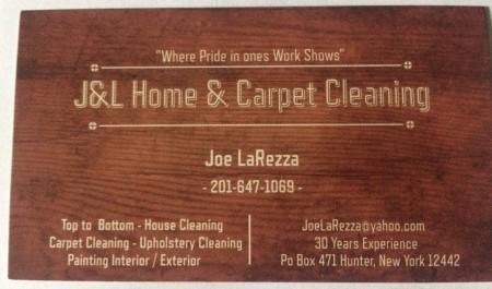J&L Home & Carpet Cleaning in Hunter