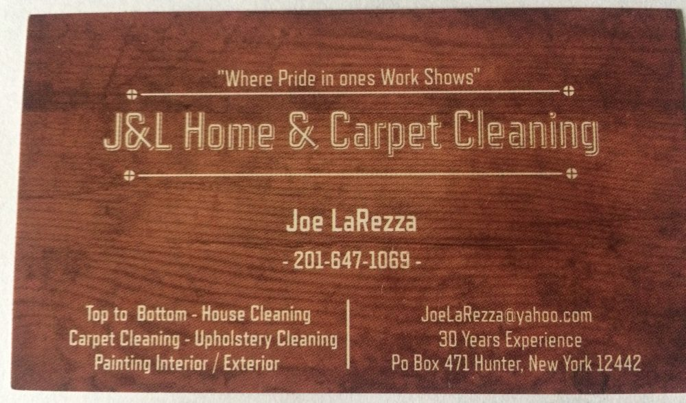 J&L Home & Carpet Cleaning in Hunter