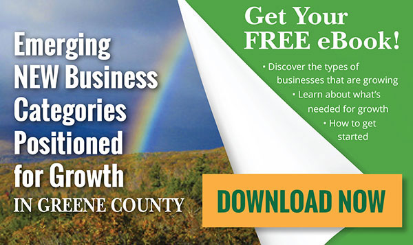 Emerging New Business Categories Positioned for Growth in Greene County.