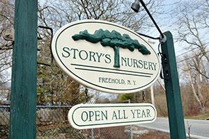 Story's Nursery in Freehold, NY