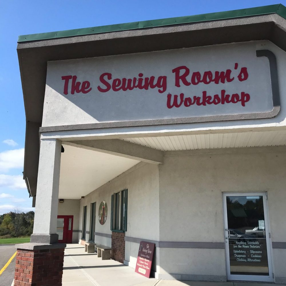 The Sewing Rooms Workshop Greenville NY Storefront