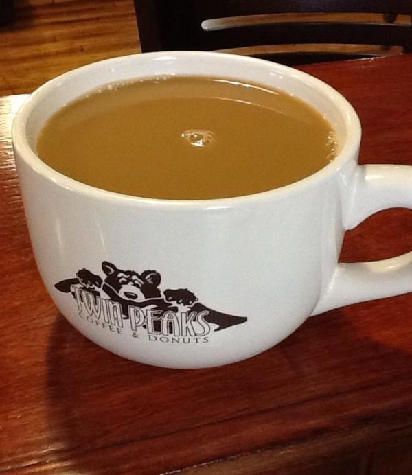 Twin Peaks Coffee & Donuts in Hunter