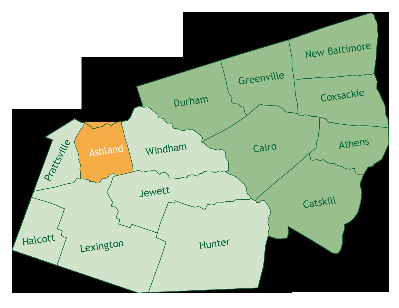 Ashland in Greene County