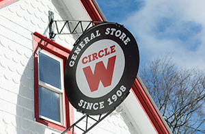 Circle W General Store in Catskill
