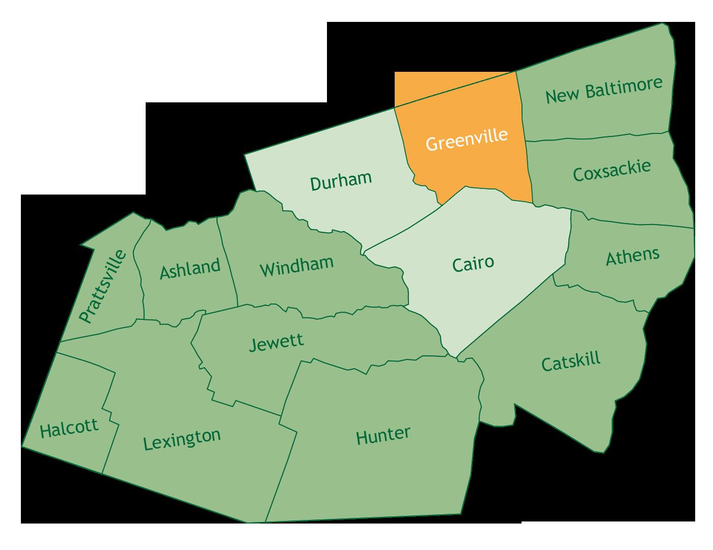 Greenville in Greene County