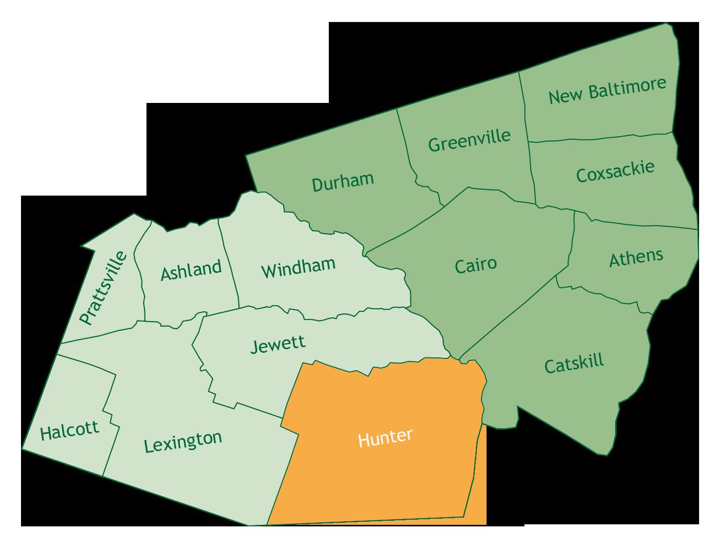 Hunter in Greene County
