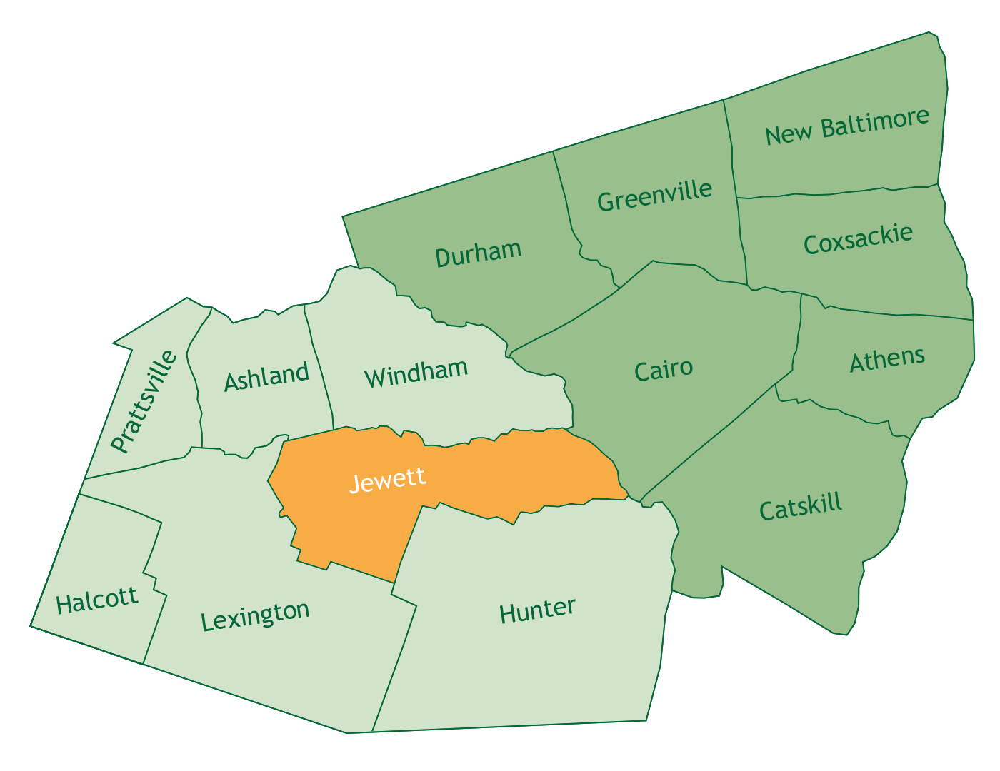 Jewett in Greene County