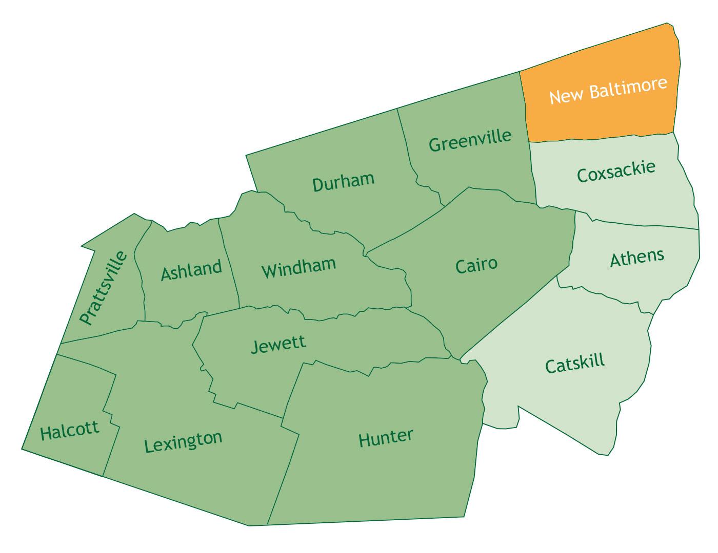 New Baltimore in Greene County