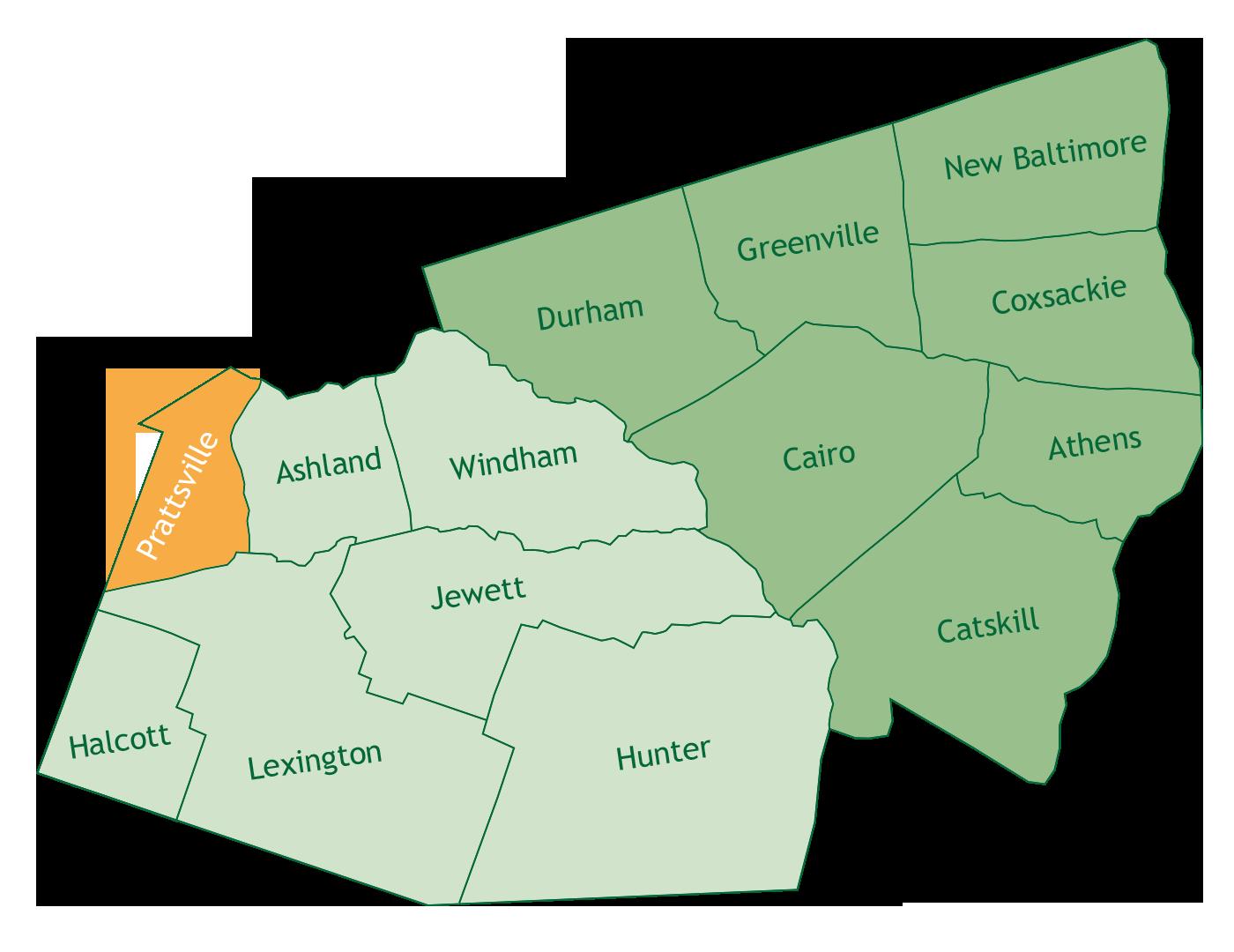 Prattsville in Greene County