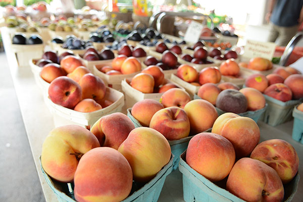 farm stand fruit