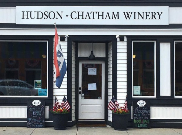 the Hudson-Chatham Winery in Tannersville