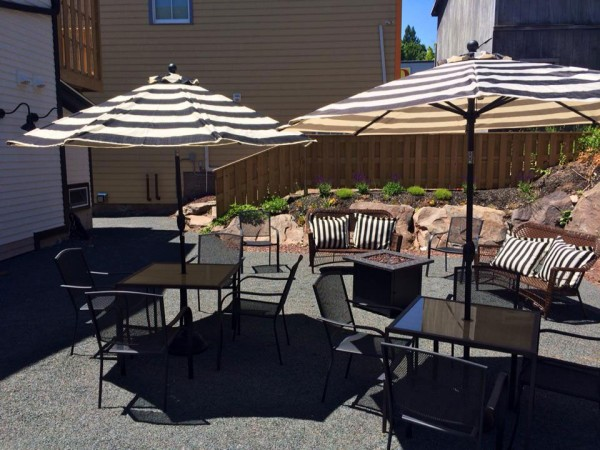 enjoy our patio