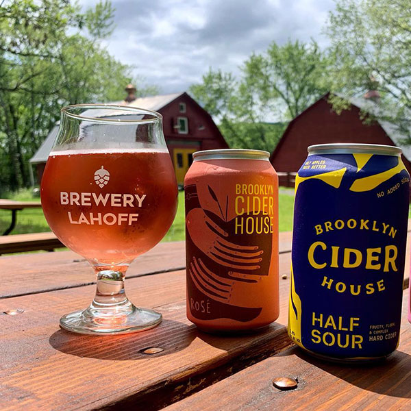 Partnered with Brooklyn Cider House