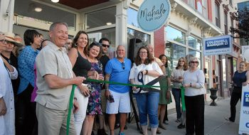 A Tale of Two Storefronts – Mahalo and Coldwell Banker Village Green Realty in Catskill, NY